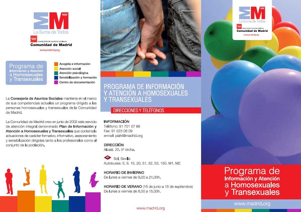 Atención Al Colectivo Lgtbi Grupo Medinaceli